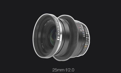 Duclos Zeiss ZF.2 25mm f/2.0 Cinemod Festbrennweite
