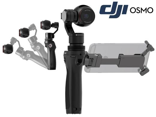 dji osmo brushless gimbal mit 4k kamera cineone. Black Bedroom Furniture Sets. Home Design Ideas