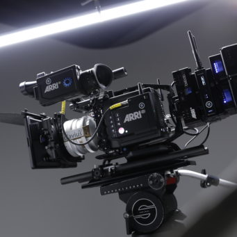 Alexa Mini LF with Clavius Lens, Teradek Bolt 4K and Cine RT Focus Bug